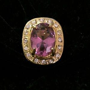 Beautiful Large Bling Ring